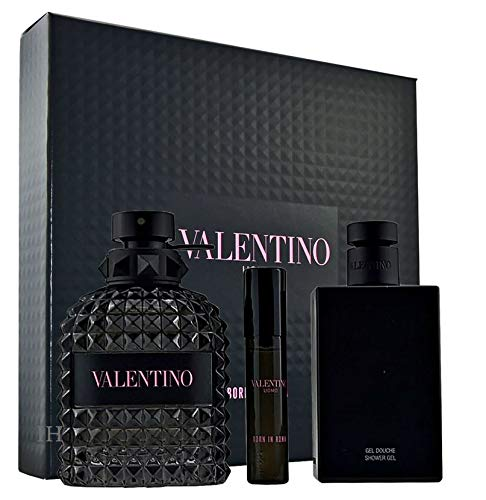 Valentino Uomo Born in Roma 100ml Eau de Toilette + 10ml Eau de Toilette + 100ml Duschgel