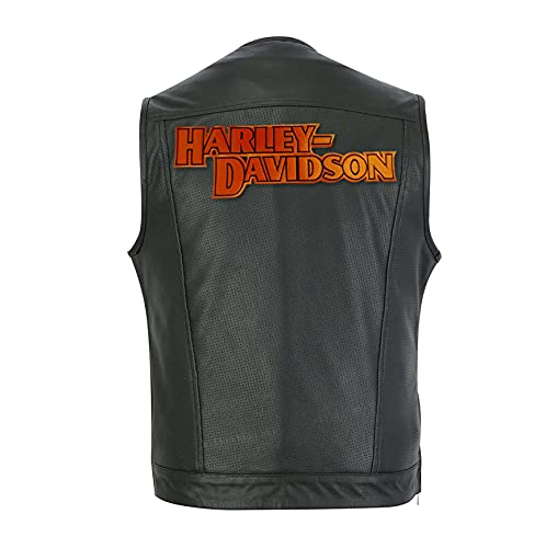 Harley Davidson Logo Patch Gilet MC Patch Thermocollant