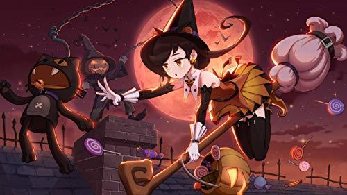 NoNo Erwachsene Puzzles 1000 Teile- Halloween Süßigkeiten Mädchen -Dekoration Für Das Heimenspiel Geschenk Lernspielzeug Für Kinder Und Erwachsene