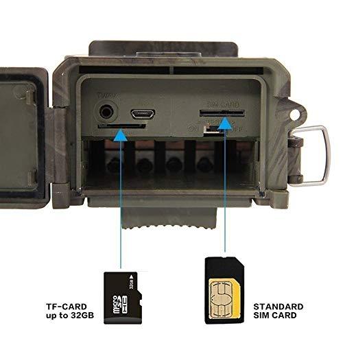 KUANGQIANWEI Infrarood fotobehang Invisible Camera HC 300 M Domestica Wildlife Digital Infrarood bewakingscamera met 36 LED's foto vallen voor traps val