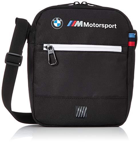 PUMA BMW MEDIUM PORTABLE Bolso pequeño/Cartera de mano hombres Negro - única - Bolso pequeño/Cartera