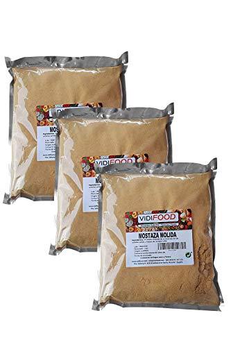 Senape Gialla Macinata - 3kg - Senape Piccante in Polvere - Prepara la Tua Salsa di Senape e Salse
