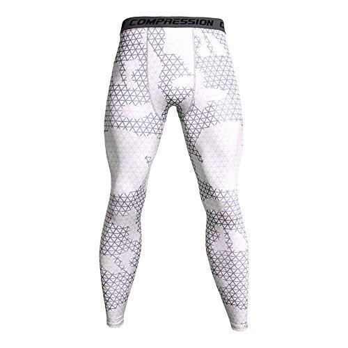 High Waist THERMO Legging Hose Leggins Tattoo Print Strass Jeans Look hoher Bund