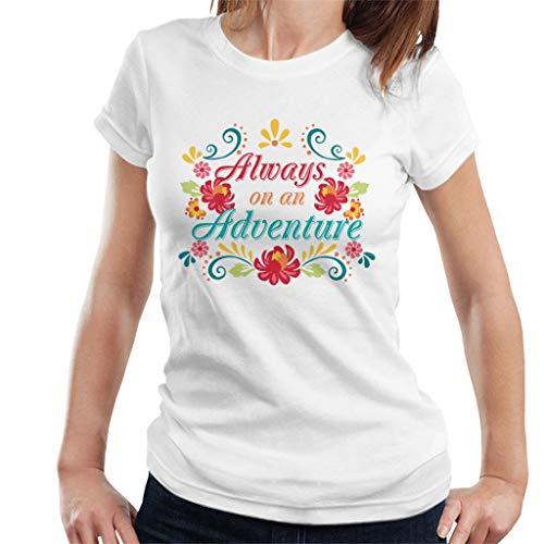 Disney Elena of Avalor Always On An Adventure Women's T-Shirt
