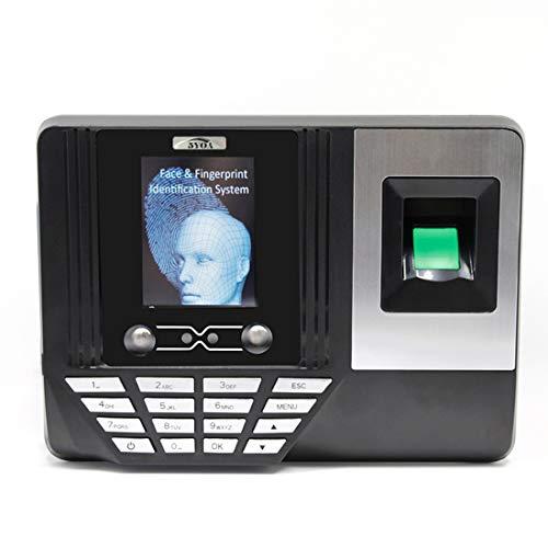 Lowest Prices! ZJXADS 2.8 inch TFT Screen,Fingerprint Face Recognition attendance Machine, Punch Car...