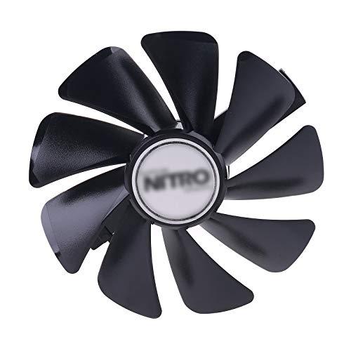 Geneic CF1015H 12D FDC10U12S9-C Ventilador de refrigeración para tarjeta gráfica Sapphire NITRO RX580 RX480 RX570 VGA
