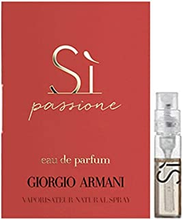 Giorgio Armani Si Passione Eau de Parfum Spray Sample 1.2ml/ 0.04oz