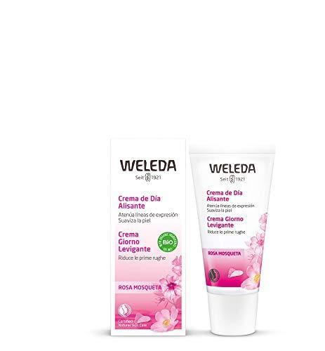 Weleda - Crema de día alisante de rosa mosqueta, 30 ml