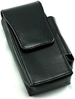 Skyway Bradford 120's Cigarette Pack Holder Case with Lighter Pouch - Black