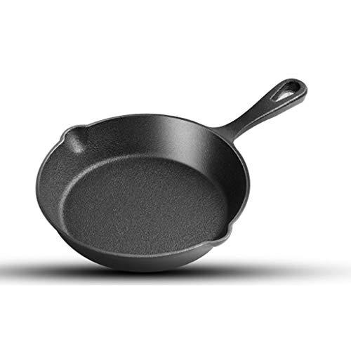 TJLSS Hierro fundido sartén - Una sartén es un pequeño hierro fundido sartén utiliza for cocinas, hornos o de cocinar que acampa
