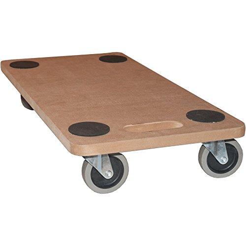 Möbelroller Transportroller 250 kg Rollbrett MDF Möbel Hund Roller (1 Stück)