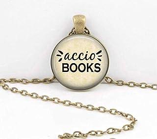 Poetry & Books Accio Books Bibliophile Book Lover - Llavero o Regalo Bibliotecario
