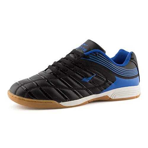 Fusskleidung Damen Herren Hallenschuhe Sportschuhe Laufschuhe Gym Turnschuhe Indoor Fitness Kinder Blau Schwarz EU 42
