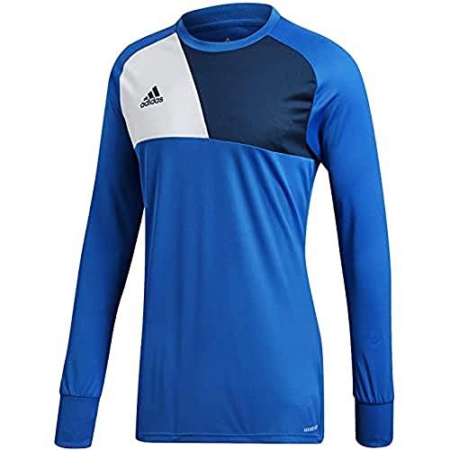 adidas Kinder Assita Goalkeeper Jersey Longsleeve Torwarttrikot, Blue, 140