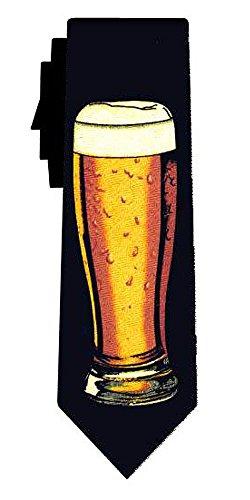 Desconocido corbata glass of beer blk