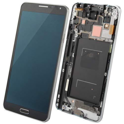 YANTAIANJANE Accesorios de móviles 3 en 1 LCD Marco Pantalla táctil for Samsung Galaxy Note III / N9005, 4G LTE (Color : Black)