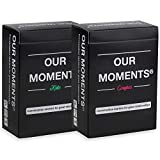 OUR MOMENTS Couples & Kids Bundle: 200 Thought Provoking Conversation Starters for Couples and for Parent-Child Relationship Building