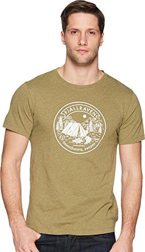 Fjällräven Herren T-Shirt Lägerplats, Green, L, F81950-620
