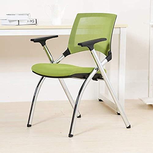 Sillón plegable para el hogar, silla trasera, silla para ordenador de oficina, silla de entrenamien