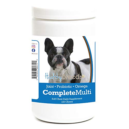 Healthy Breeds French Bulldog All in One Multivitamin Soft Chew 120 Count