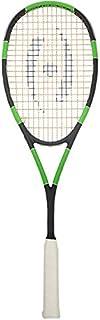 Harrow 65960219 2016 Spark Squash 球拍,黑色/绿黄色