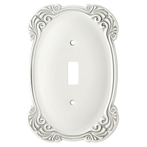 Arboresque Single Toggle Switch Wall Plate / Switch Plate / Cover, Packaging may Vary
