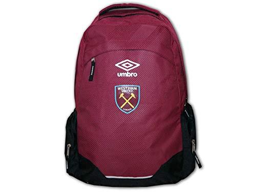 UMBRO West Ham United Rucksack rot WUFC Fußball Backpack Premier League Daybag