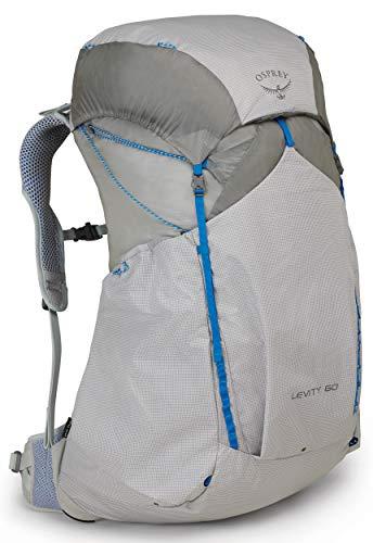 Osprey Levity 60 ultraleichter Trekkingrucksack für Männer - Parallax Silver (SM)