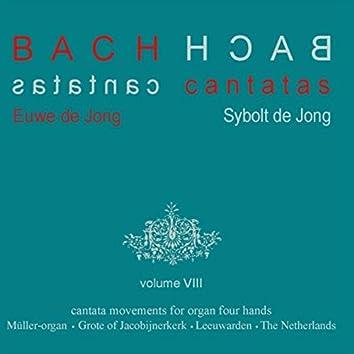 Bach Cantatas, Vol. 8: Cantata Movements for Organ Four Hands