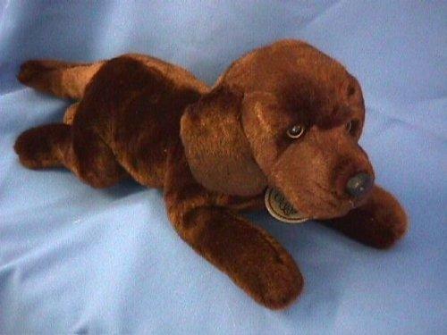 Russ Berrie Yomiko - Labrador de peluche (43 cm), color marrón