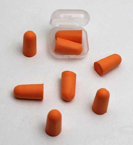Oordopjes SET 8 stuks, polyurethaanschuim, schuimrubber oordopjes gehoorbescherming (LHS)