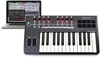 Novation Nocturn 25 USB MIDI Interface Keyboard Controller, 25-Keys
