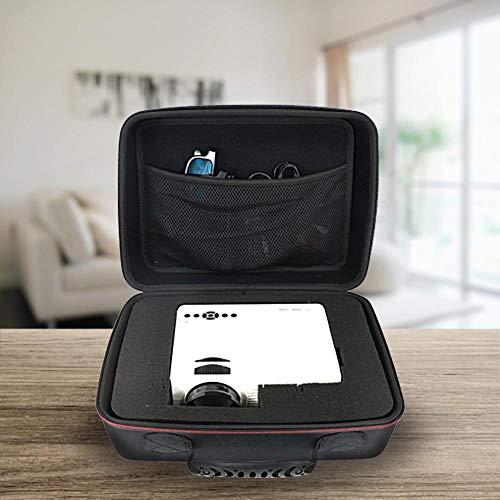 KiGoing Beamertasche - 31x23x13cm,Aufbewahrungstasche für Beamer Projektor für DBPOWER, ViewSonic, Epson, BenQ