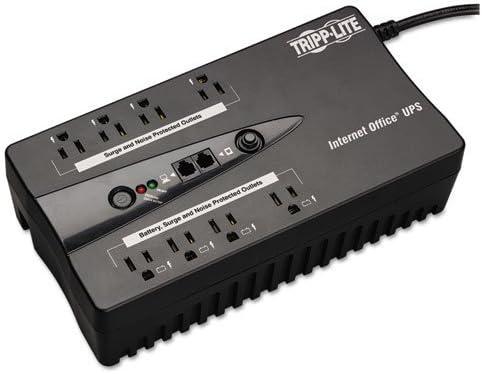 INTERNET550U Internet Office 550VA UPS 120V with USB, RJ11, 8 Outlet, Sold as 1 Each