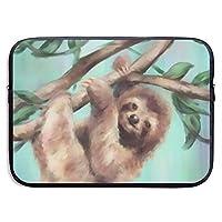 ラップトップスリーブケース Sloth On The Tree ノートパソコン インナーケース ネオプレン 防水 衝撃吸収 PCプロテクターバッグ Acer Dell HP Toshiba FUJITSU ASUS Lenovo MacBook MacAir Pro タブレット 対応 13 inch