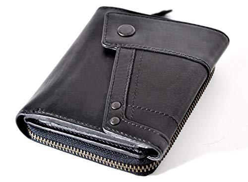Aunts & Uncles Lotta Echtleder Portemonnaie Geldbörse Genuine Leather Wallet Handmade UVP 59,90 €
