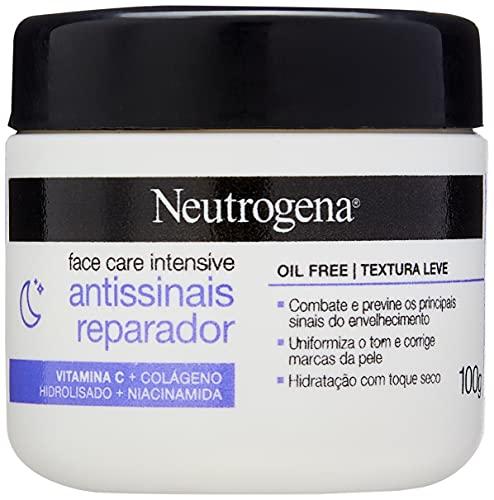 NEUTROGENA Face Care Intensive Antissinais Reparador 100g, Neutrogena