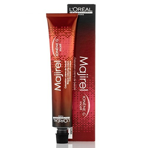 L'OREAL Professional Majire Permanente Haarfarbe, 50 ml, Mokka 7.8