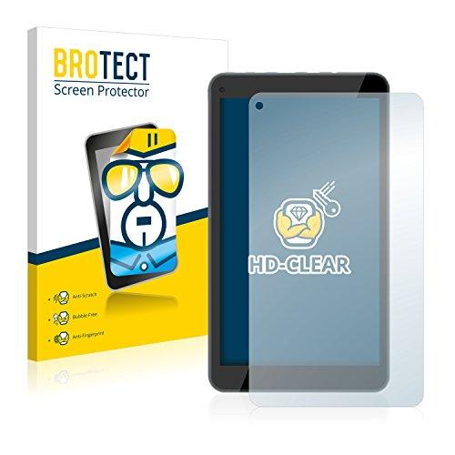 BROTECT Schutzfolie kompatibel mit Odys Mira (2 Stück) klare Bildschirmschutz-Folie