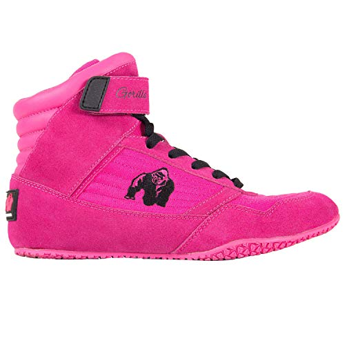 GORILLA WEAR High Tops Ladies Pink - Bodybuilding y Fitness Shoes Ladies 40