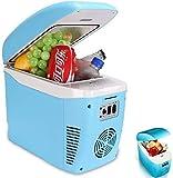 BATOWE 7.5 litros Mini portátil Frigorífico - Frigorífico de Coches, refrigerador y Calentador, 110-240 V CA y 12 V CC, for el Dormitorio/Cosméticos/Medicamentos/Inicio/Viajes