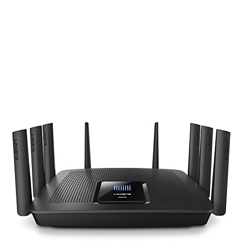 Linksys AC5400 Tri Band Wireless Router, Works with Amazon Alexa (Max Stream...