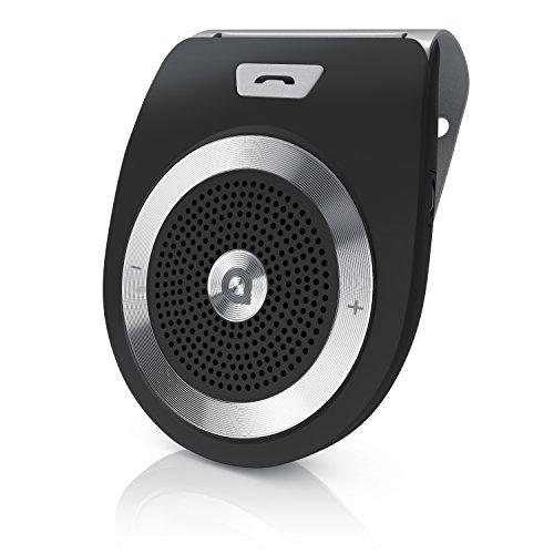 CSL - Kfz Freisprecheinrichtung - Handsfree Kit - Bluetooth 4.1 Freisprechanlage - Bis zu 17 Stunden Gesprächszeit - 2W Lautsprecher - Multipoint - für Smartphones Tablets Notebooks MP3-Player