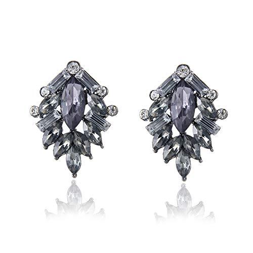 Burenqi Oorbel Vrouwen Mode Sieraden Stijl Mooie Oorbellen Handgemaakte Volledige Kristal Zoete Stud Crystal Oorbellen Voor Vrouwen Meisje