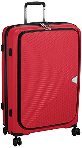 [シフレ] スーツケースジッパー GRE2175 グリーンワークス 保証付 90L 70 cm 4.5kg ピュアレッド