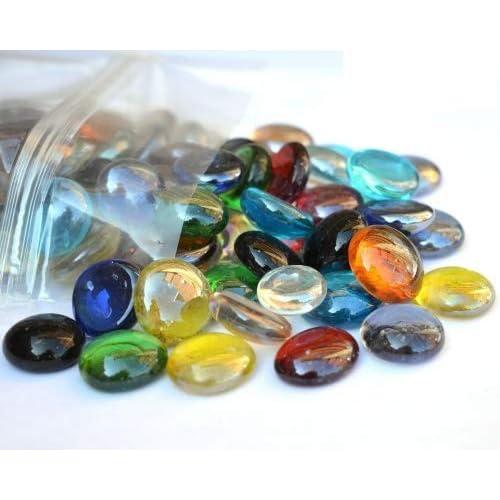 1 kg (App 230 varios colores redonda de cristal pledger/piedras/Gems/