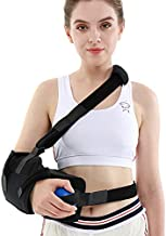 TANDCF Shoulder Abduction Sling with Pillow & Exercise Ball,Injury Support - Shoulder Arm Immobilizer for Rotator Cuff, Surgery, Dislocated, Sublexion, Broken Arm