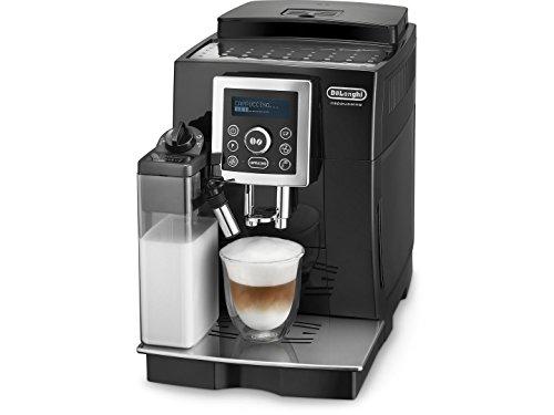 DeLonghi ECAM 23.460.B Cafetera superautomática, 1.8 L, 1450 W, 15 bares, 20 dB, acero inoxidable, negro