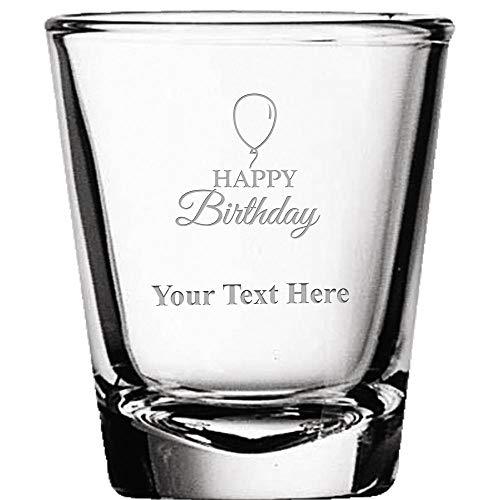 Anchor Birthday Personalized Birthday Shot Glass Anchors Aweigh Nautical Birthday 45th Birthday Shot Glasses 20023