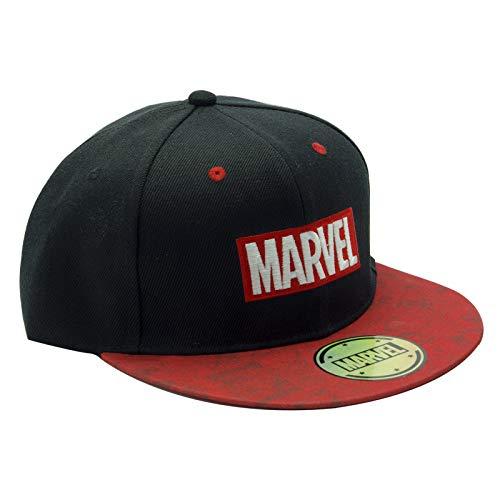 ABYstyle - Marvel - Kappe - Logo - Schwarz und rot